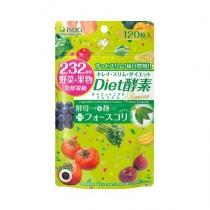 日本医食同源 ISDG Diet日间酵素果蔬孝素120粒/袋(绿)