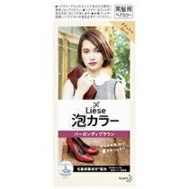 日本 花王 Prettia 染发膏 红酒棕4901301363640  19年新色