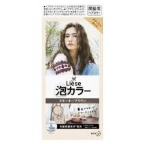 日本 花王 Prettia 染发膏 烟熏棕4901301363695 19年新色