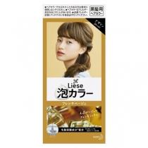 日本 花王 Prettia 新包装泡沫染发膏 法国米色4901301336798