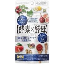 日本Metabolic酵素酵母天然水果酵素60粒30日