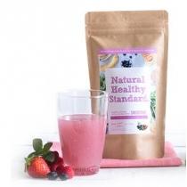 【40%off】日本Natural Healthy Standard酵素青汁代餐粉160G 莓果酸奶 2019.12.21