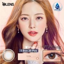 韩国Vivi Ring系列 1Day  清透棕 1盒20P