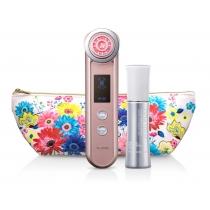 日本YAMAN 10T 粉红限量版 美容仪 瘦脸面护眼纹部射频导入出电子红光
