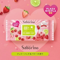 Saborino 早安面膜 PLAZA・MINiPLA限定  杂果汽水 28枚入