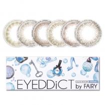 日本Eyeddict by Fairy 新色 日抛10片装