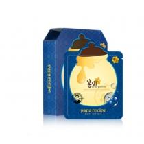 韩国 Papa Recipe春雨蓝肽修复蜂蜜面膜(1盒10片)