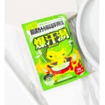 日本BISON爆暴汗汤热感脂肪分解入浴剂  柠檬苏打 4901525008587